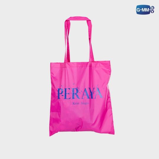 PERAYA TOTE BAG (PINK)   กระเป๋าผ้าพีรญา (สีชมพู)