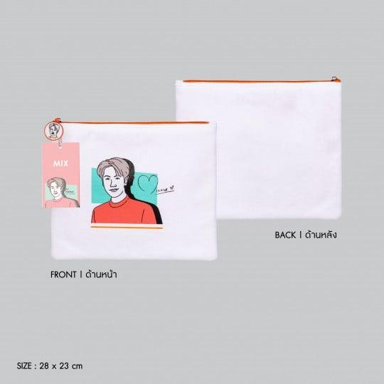 MIX | PORTRAIT ART SERIES CLUTCH BAG