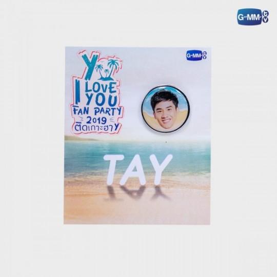 Tay Pin Y I Love You 2019 | เข็มกลัดเต วายไอเลิฟยู 2019