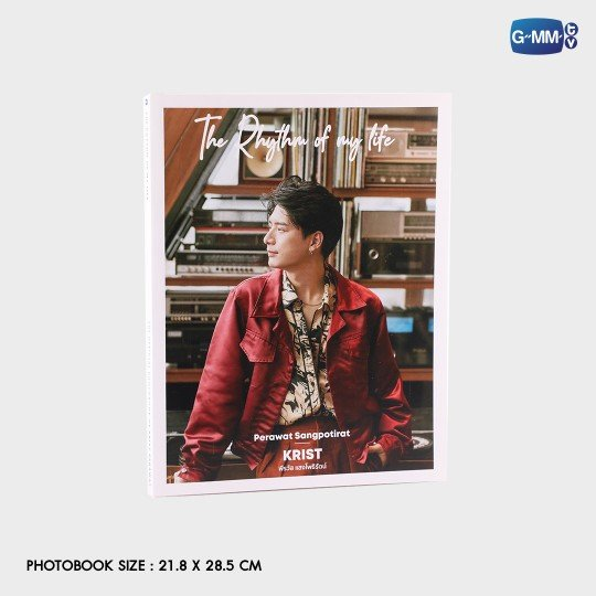 THE RHYTHM OF MY LIFE | THE OFFICIAL PHOTOBOOK OF KRIST PERAWAT
