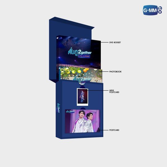 DVD BOXSET KUN – GU 2GETHER LIVE ON STAGE