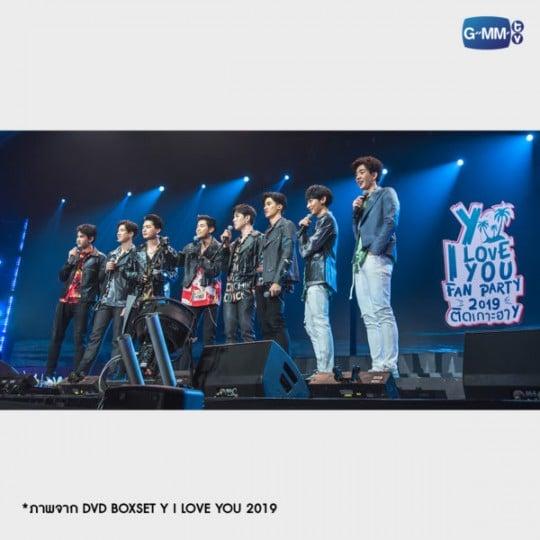 DVD BOXSET Y I LOVE YOU 2019