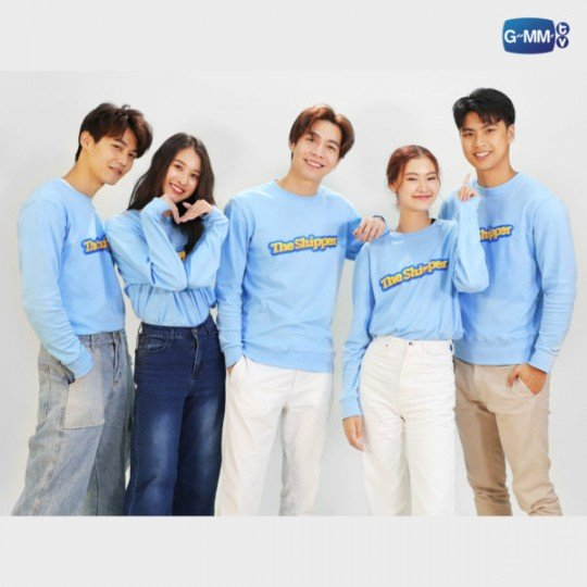 Sweatshirt The Shipper | Sweatshirt ลาย The Shipper