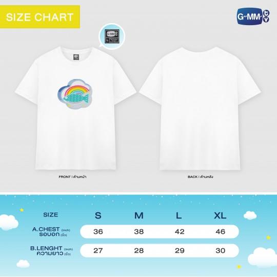 FISH UPON THE SKY T-SHIRT | เสื้อยืดปลาบนฟ้า